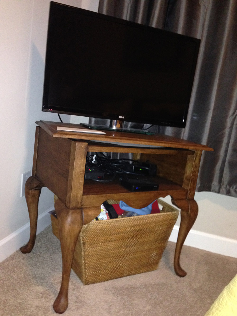 TV Stand Thrift Store Fixer Upper
